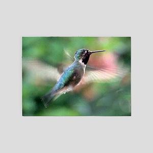 Humming Bird ** 5'x7'Area Rug