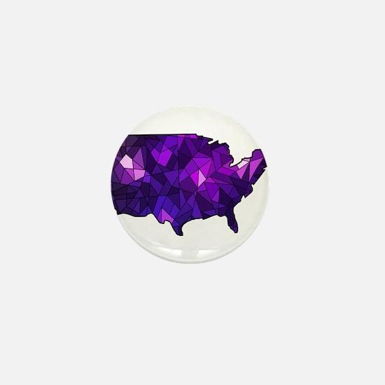USA - United States Mini Button