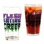 Flesh Eating Creep Drinking Glass