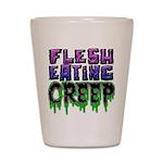 Flesh Eating Creep Shot Glass