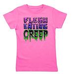 Flesh Eating Creep Girl's Tee