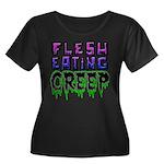 Flesh Eating Creep Plus Size T-Shirt