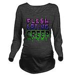 Flesh Eating Creep Long Sleeve Maternity T-Shirt
