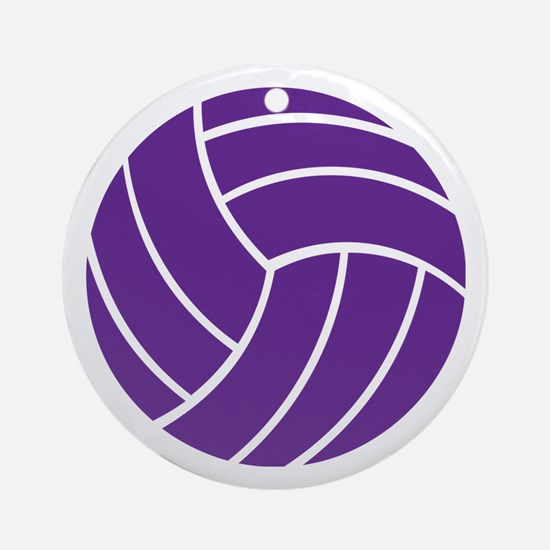 Volleyball - Sports Ornament (Round)