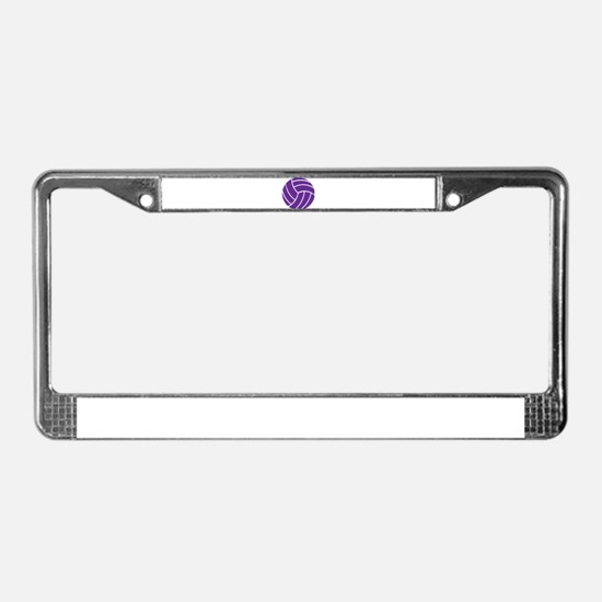 Volleyball - Sports License Plate Frame