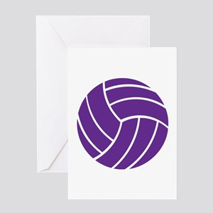 Volleyball - Sports Greeting Cards