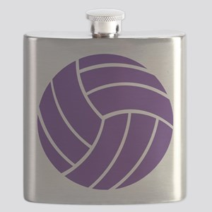 Volleyball - Sports Flask