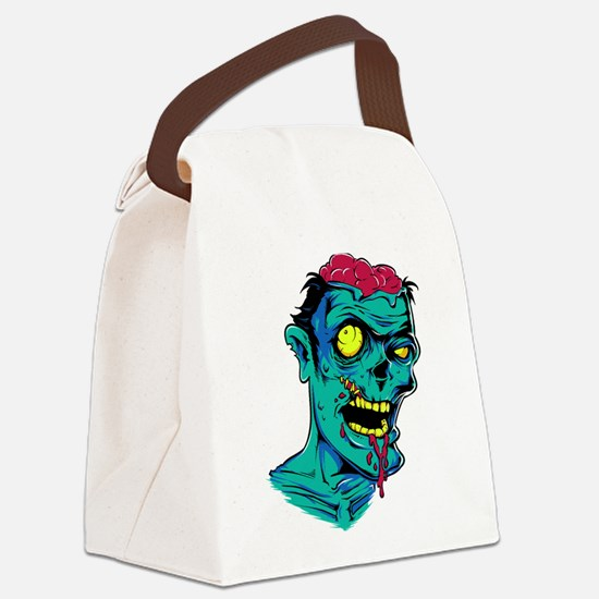 Zombie - Horror Canvas Lunch Bag