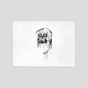 Zombie - Horror 5'x7'Area Rug