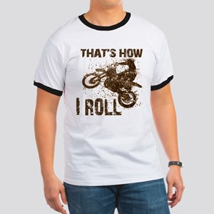 Motorcycle, that's how I roll.  Ringer T