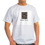 Bobcat Track Photo Ash Grey T-Shirt