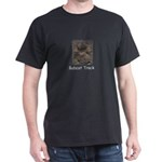 Bobcat Track Photo Dark T-Shirt
