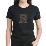 Bobcat Track Photo Women's Dark T-Shirt