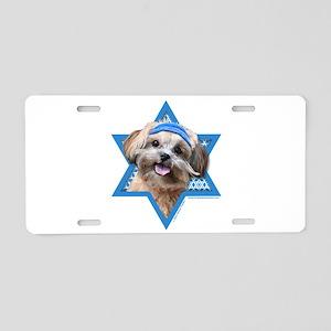 Hanukkah Star of David - ShihPoo Aluminum License