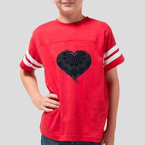 Black Heart Catharsis Youth Football Shirt