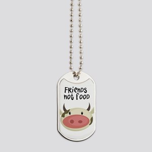 friends not food Dog Tags