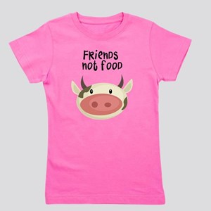 friends not food Girl's Tee