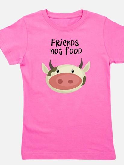 friends not food Girl's Tee