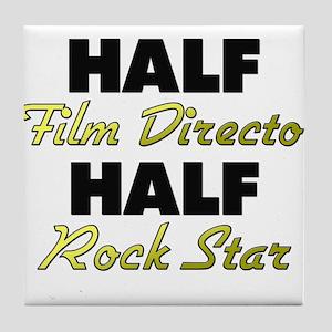 Half Film Director Half Rock Star Tile Coaster