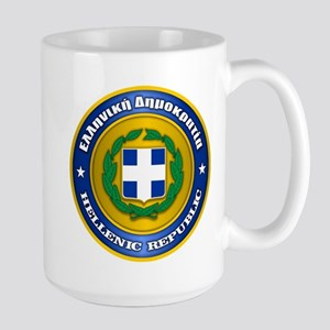 Greek Medallion Mugs