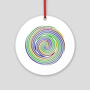 Focus Rainbow Ornament (Round)