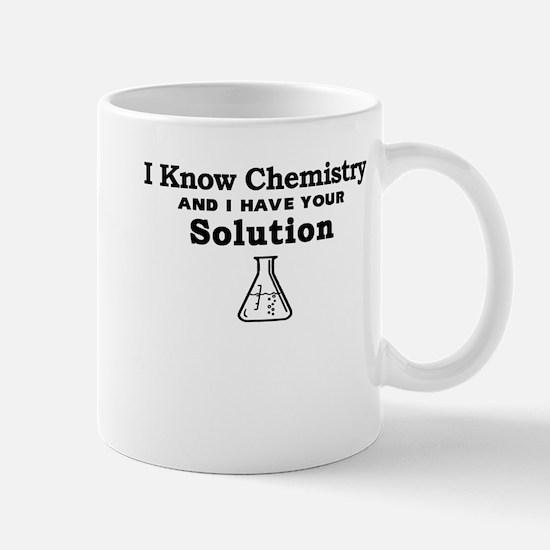 Chemistry Solution Mugs