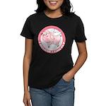 Inspirational Flying Pig Women's Dark T-Shirt