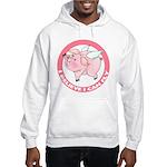 Inspirational Flying Pig Hooded Sweatshirt