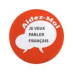 "Diskuto French 3.5"" Button"