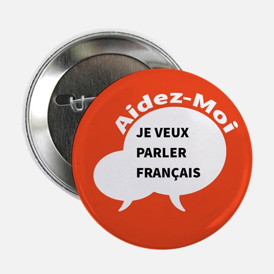 "Diskuto French 2.25"" Button"