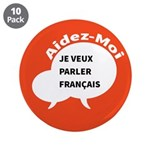 """Diskuto French 3.5"""" Button (10 pack)"""