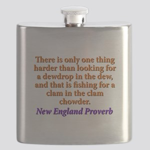 There Is Only One Thing Harder - New England Flask
