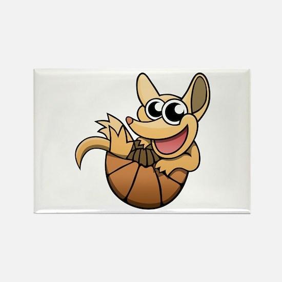 Cartoon Armadillo Magnets
