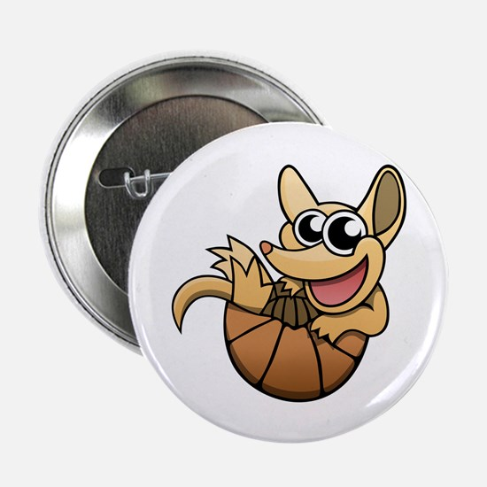 "Cartoon Armadillo 2.25"" Button (10 pack)"