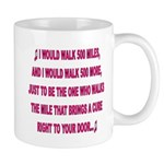 500 MILES FOR A CURE Mugs