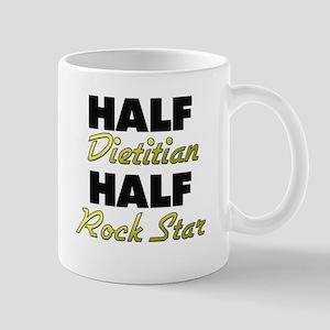Half Dietitian Half Rock Star Mugs