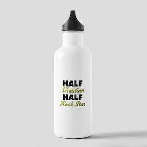 Half Dietitian Half Rock Star Water Bottle