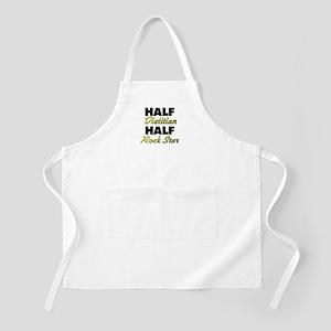Half Dietitian Half Rock Star Apron