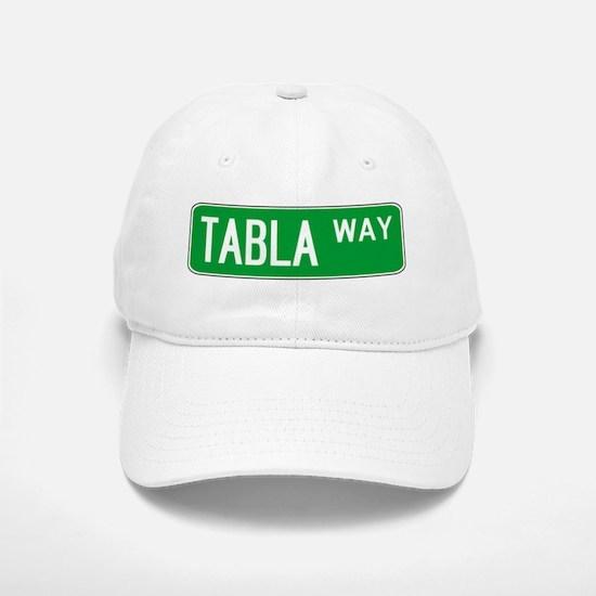 Roadsign Tabla Baseball Baseball Cap