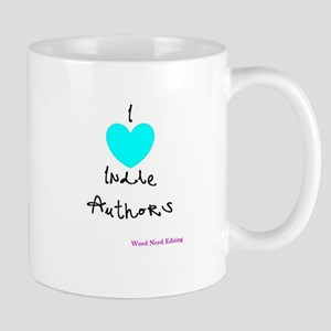 I heart Indie Authors Mug