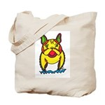 Funky Frenchie Tote Bag