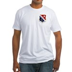 66th ABW Fitted T-Shirt