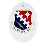 66th ABW Ornament (Oval)