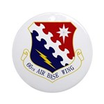 66th ABW Ornament (Round)
