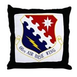 66th ABW Throw Pillow