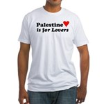 Palestine is... Fitted T-Shirt
