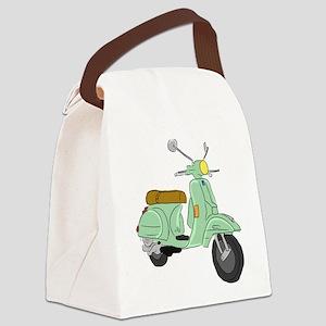 Vespa PX Sketch Canvas Lunch Bag
