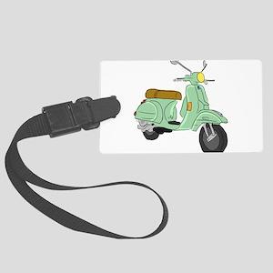 Vespa PX Sketch Luggage Tag