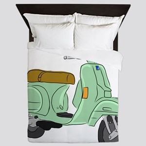 Vespa PX Sketch Queen Duvet