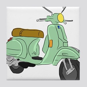 Vespa PX Sketch Tile Coaster